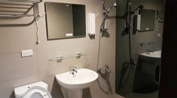 Morgan Man Spa(モーガンマン スパ)のシャワールーム