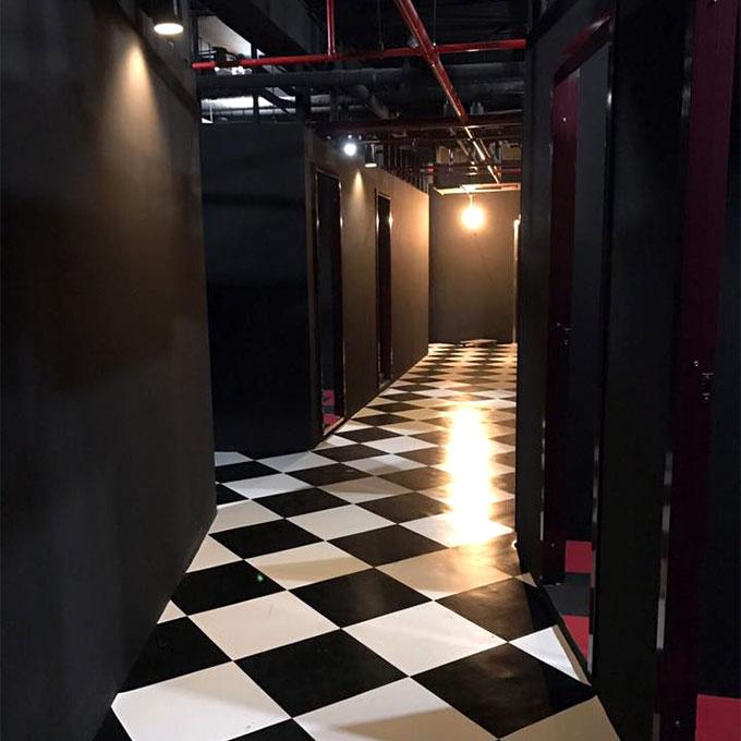 地下2階の個室エリア